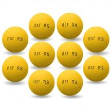 Set 10 palline Roberto Sport ITSF gialle