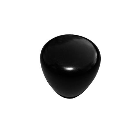 Acquistare manopola rotonda liscia nera calciobalilla