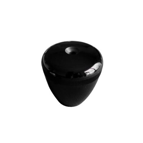 Acquistare manopola rotonda forata nera calciobalilla
