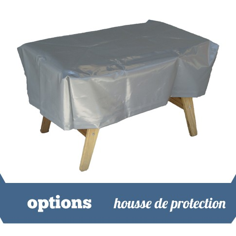 housse de protection stella blanc