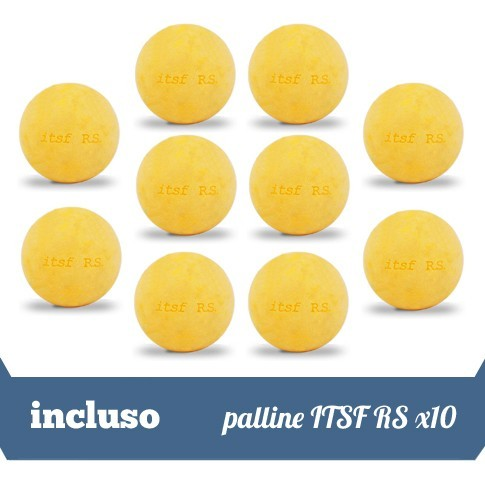 incluso 10 palline itsf rs