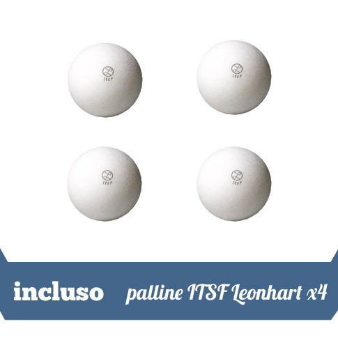 4 palline ITSF Leonhart