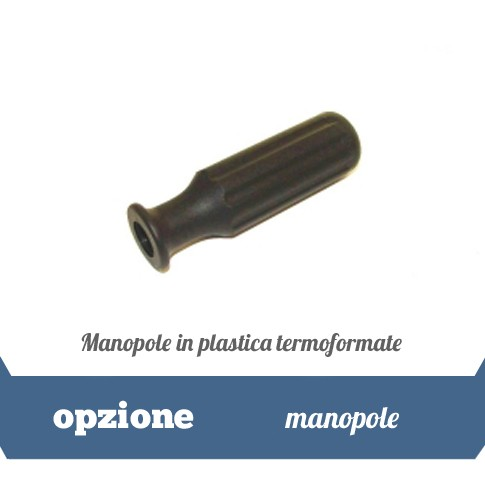 Manopole in plastica termoformate